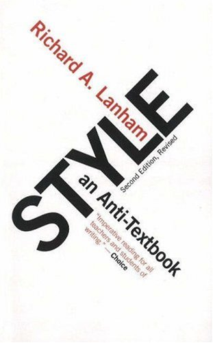 Style An Anti-Textbook 2nd 2007 edition cover