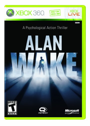 Alan Wake Xbox 360 artwork
