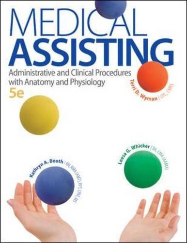 Medical Assisting Administrative and Clinical Procedures with Anatomy and Physiology 5th 2014 edition cover