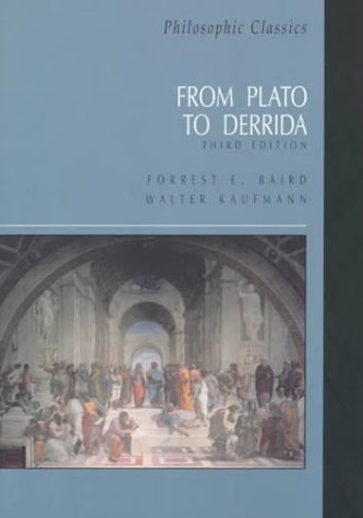 Philosophic Classics From Plato to Derrida 3rd 2000 (Revised) edition cover