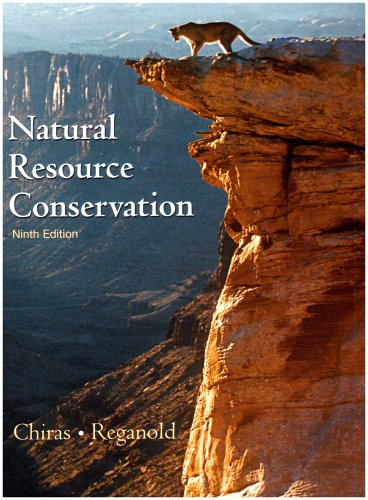 Natural Resource Conservation Management for a Sustainable Future 9th 2005 edition cover