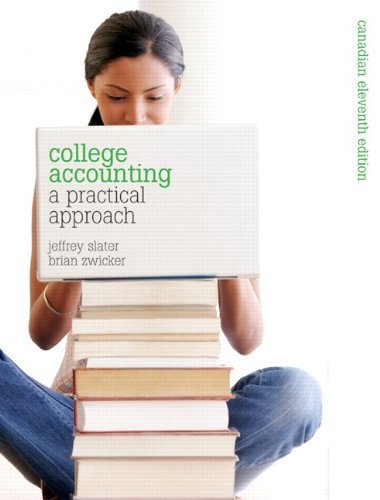 College Accounting A Practical Approach 11th 2012 9780135111321 Front Cover