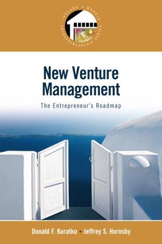 New Venture Management The Entrepreneur's Roadmap  2009 9780136130321 Front Cover