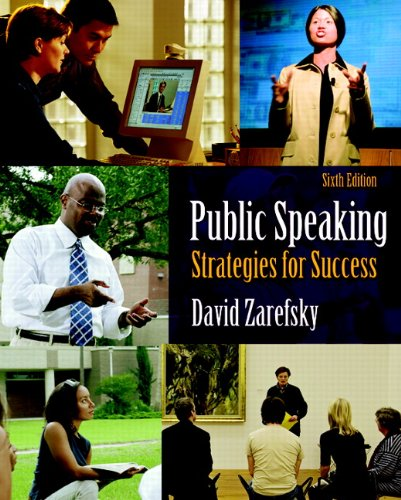 Public Speaking Strategies for Success 6th 2011 edition cover