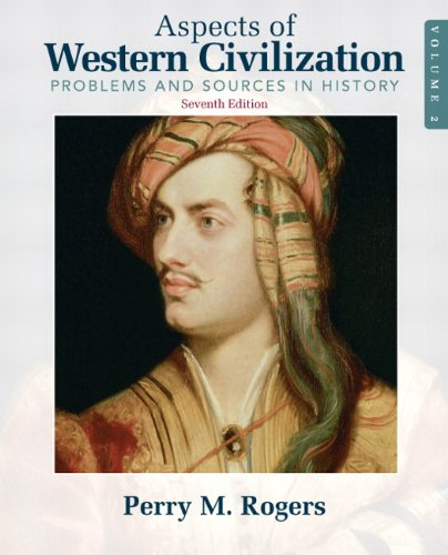 Aspects of Western Civilization Problems and Sources in History, Volume 2 7th 2011 edition cover