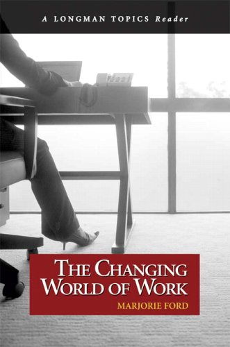 Changing World of Work   2006 edition cover