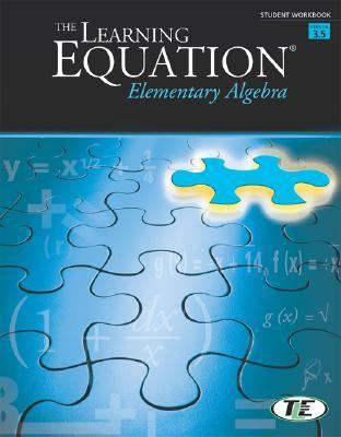 Learning Equation Elementary Algebra  4th 2004 (Student Manual, Study Guide, etc.) 9780534420321 Front Cover