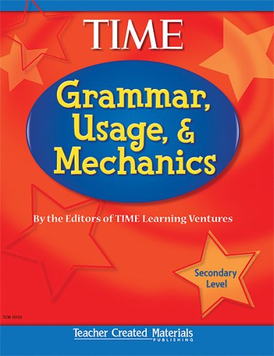 Grammar, Usage, and Mechanics Secondary Level  2006 (Student Manual, Study Guide, etc.) 9780743901321 Front Cover