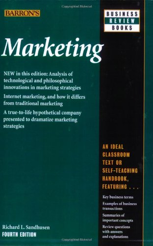 Marketing  4th 2008 (Revised) edition cover