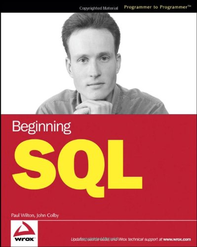 Beginning SQL   2005 9780764577321 Front Cover