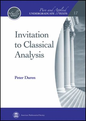 Invitation to Classical Analysis   2012 edition cover