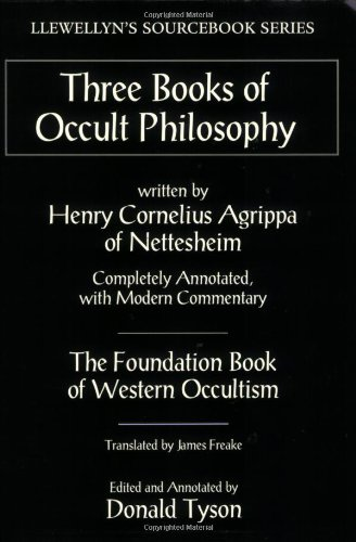 Three Books of Occult Philosophy   1993 edition cover