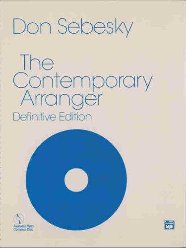 Contemporary Arranger Book and CD  1974 edition cover