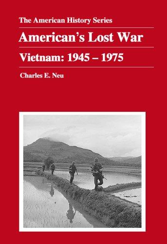 America's Lost War Vietnam, 1945-1975  2005 9780882952321 Front Cover
