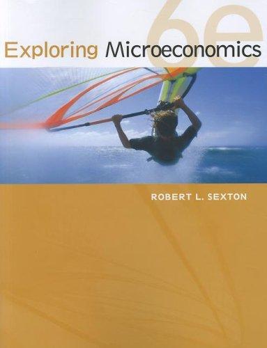 Exploring Microeconomics  6th 2013 edition cover