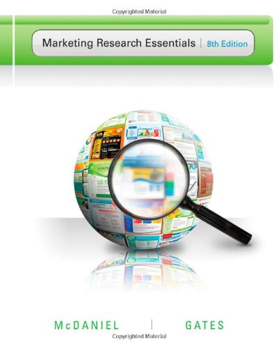 Marketing Research Essentials  8th 2013 edition cover