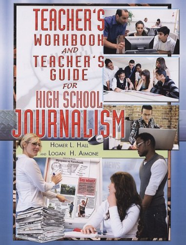 Teacher's Workbook and Teacher's Guide for High School Journalism  2008 edition cover