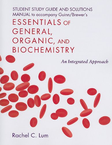 Essentials of General, Organic, and Biochemistry   2010 edition cover