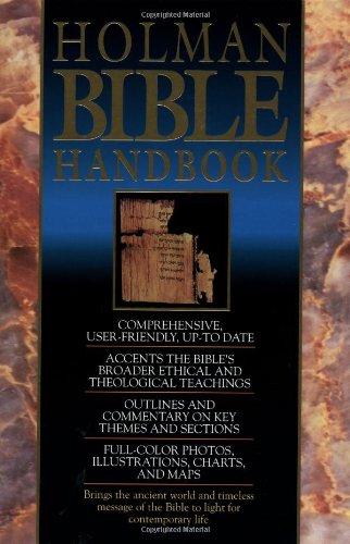 Holman Bible Handbook   1992 edition cover
