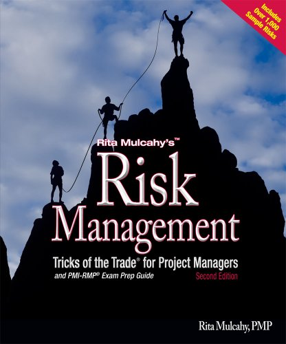 Rita Mulcahy's Risk Management Tricks of the Trade for Project Managers, and PMI-RMP Exam Prep Guide: A Course in a Book 2nd 2010 edition cover
