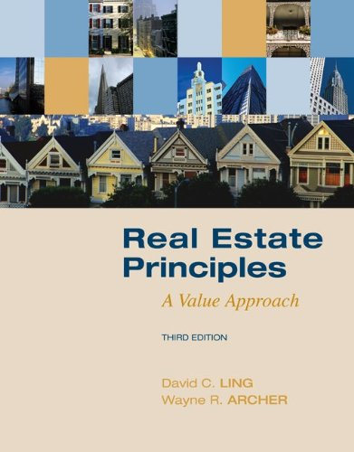 Real Estate Principles A Value Approach 3rd 2010 edition cover