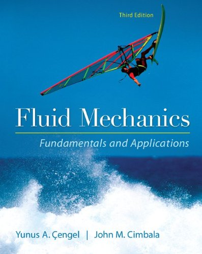 Fluid Mechanics Fundamentals and Applications  3rd 2014 9780073380322 Front Cover