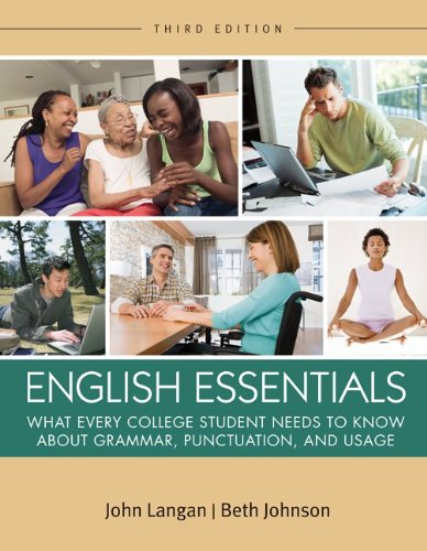 English Essentials  3rd 2013 edition cover