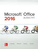 Microsoft Office 2016: in Practice   2017 9780078020322 Front Cover