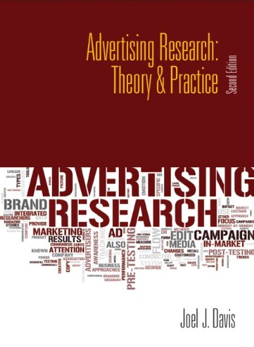 Advertising Research Theory and Practice 2nd 2012 (Revised) edition cover
