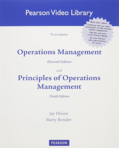 Operations Management & Principles of Operations Management:   2013 9780132863322 Front Cover