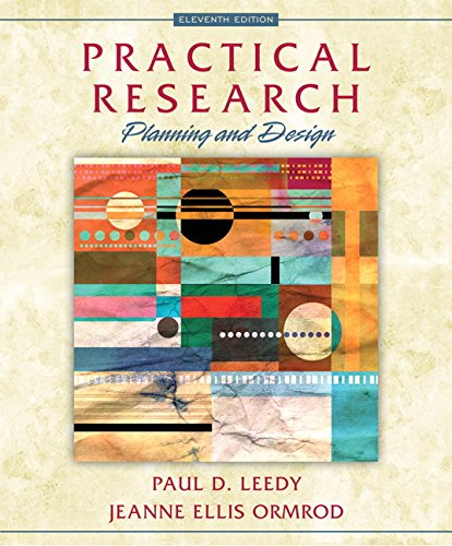 Practical Research Planning and Design 11th 2016 9780133741322 Front Cover
