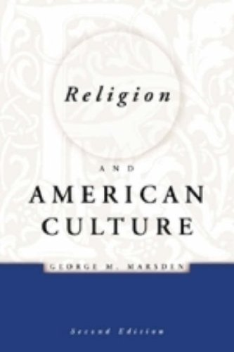 Religion and American Culture  2nd 2001 (Revised) edition cover