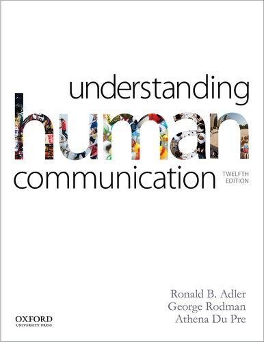 Understanding Human Communication:   2013 9780199334322 Front Cover