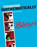 Thinking Mathematically  6th 2015 edition cover