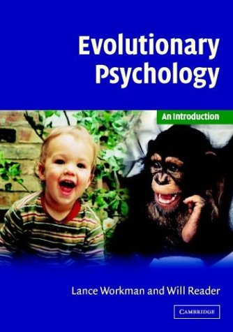 Evolutionary Psychology An Introduction  2004 9780521805322 Front Cover