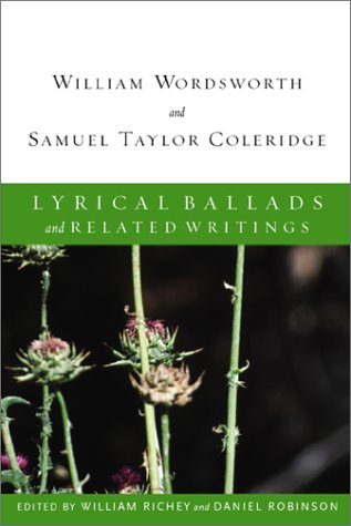 Lyrical Ballads and Related Writings   2002 9780618107322 Front Cover