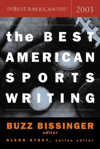Best American Sports Writing 2003   2003 edition cover