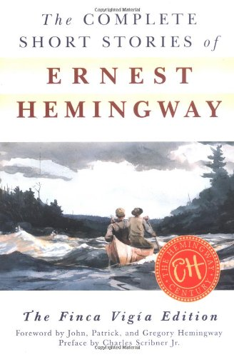 Complete Short Stories of Ernest Hemingway   1998 edition cover
