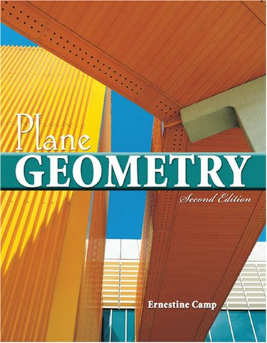 Plane Geometry  2nd 2007 (Revised) 9780757525322 Front Cover