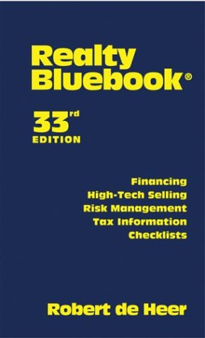 Realty Bluebook  33rd 2004 (Revised) edition cover