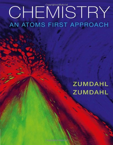 Chemistry An Atoms First Approach  2012 edition cover