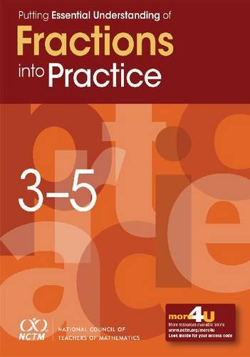 Putting Essential Understanding of Fractions into Practice in Grades 3-5  0 edition cover
