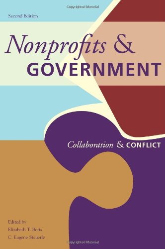 Nonprofits and Government Collaboration and Conflict 2nd 2006 edition cover