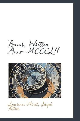 Poems, Written Anno-McCclii N/A 9781115355322 Front Cover