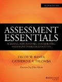 Assessment Essentials Planning, Implementing, and Improving Assessment in Higher Education 2nd 2015 edition cover