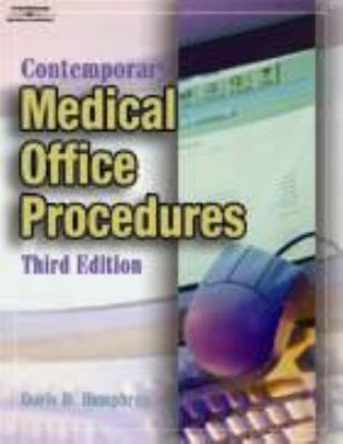 Bundle: Contemporary Medical Office Procedures with Workbook Contemporary Medical Office Procedures with Workbook 3rd 2004 9781401845322 Front Cover