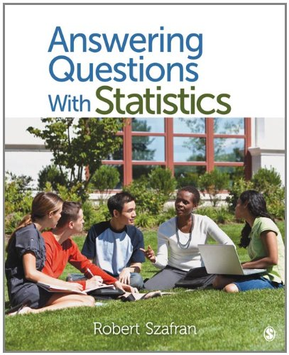 Answering Questions with Statistics   2012 edition cover