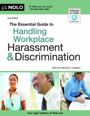 Essential Guide to Handling Workplace Harassment and Discrimination  2nd 2012 edition cover