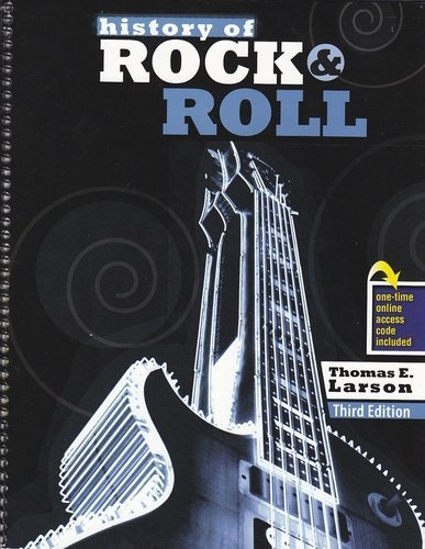 History of Rock and Roll with Rhapsody  3rd (Revised) edition cover
