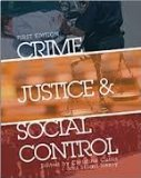 Crime, Justice, and Social Control   2013 edition cover